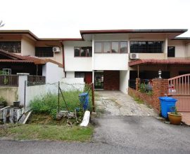 Double Storey Seksyen 6 Shah Alam ( TERMURAH, FACING OPEN , BIG HALL )