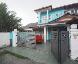 ( FULLY RENO , END LOT ) Double Storey Taman Meru Putra Meru Klang